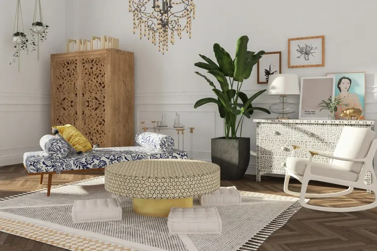 How to Design Your Living Room Without a Sofa ...