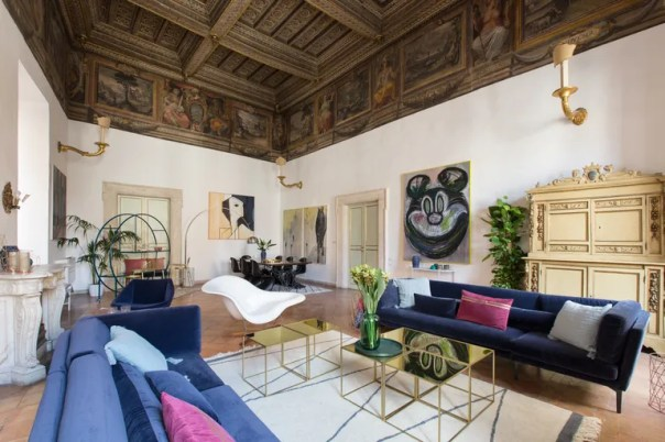 These Hotel Frescoes Are Worthy of the Sistine Chapel