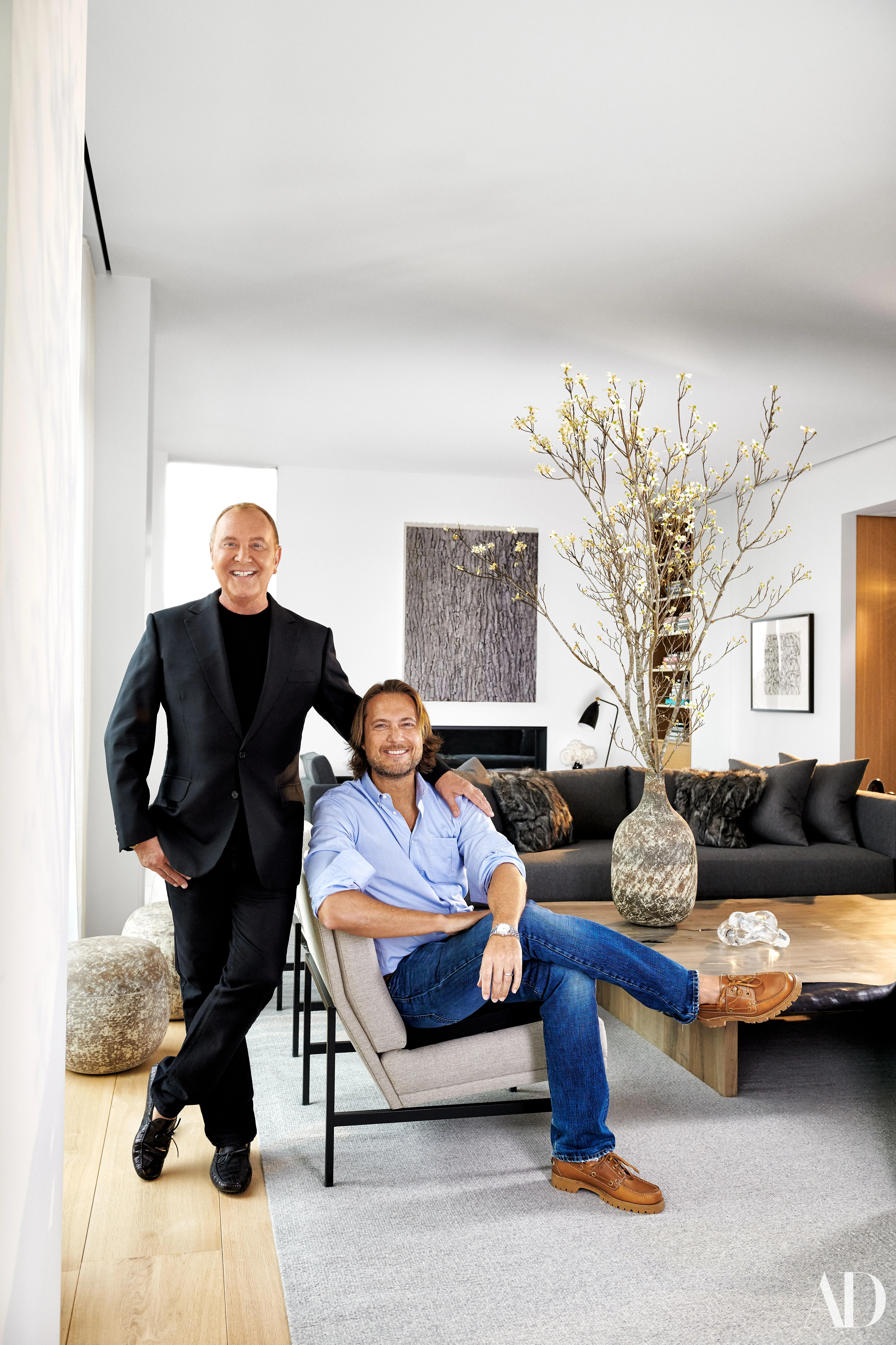 Michael Kors Takes AD Inside His Sprawling New York City Penthouse Architectural Digest