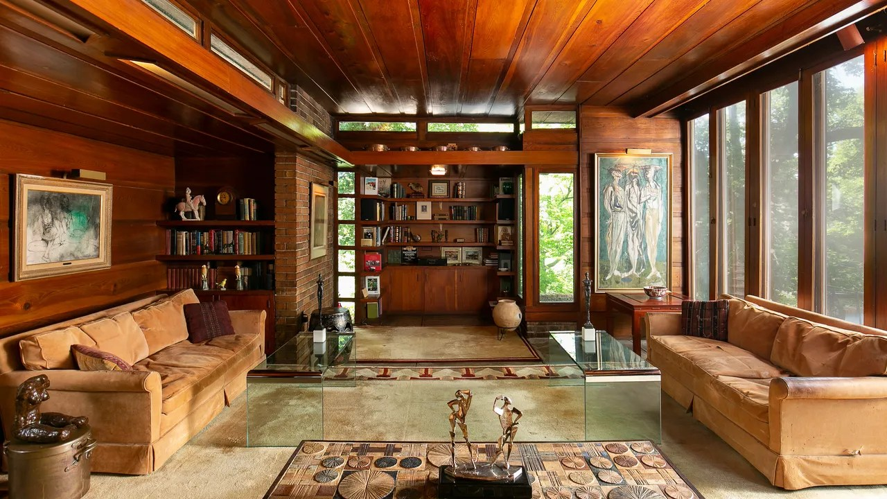 A Frank Lloyd Wright Home In Kansas City Is Headed To
