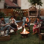 35 Outdoor Fire Pit Ideas That Are Lit Architectural Digest