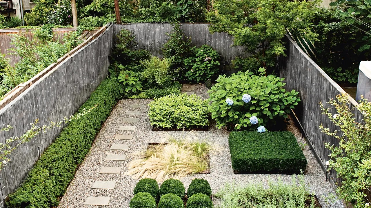 Garden Ideas Inspired By This Brooklyn Backyard ... on Backyard Garden Ideas id=31198