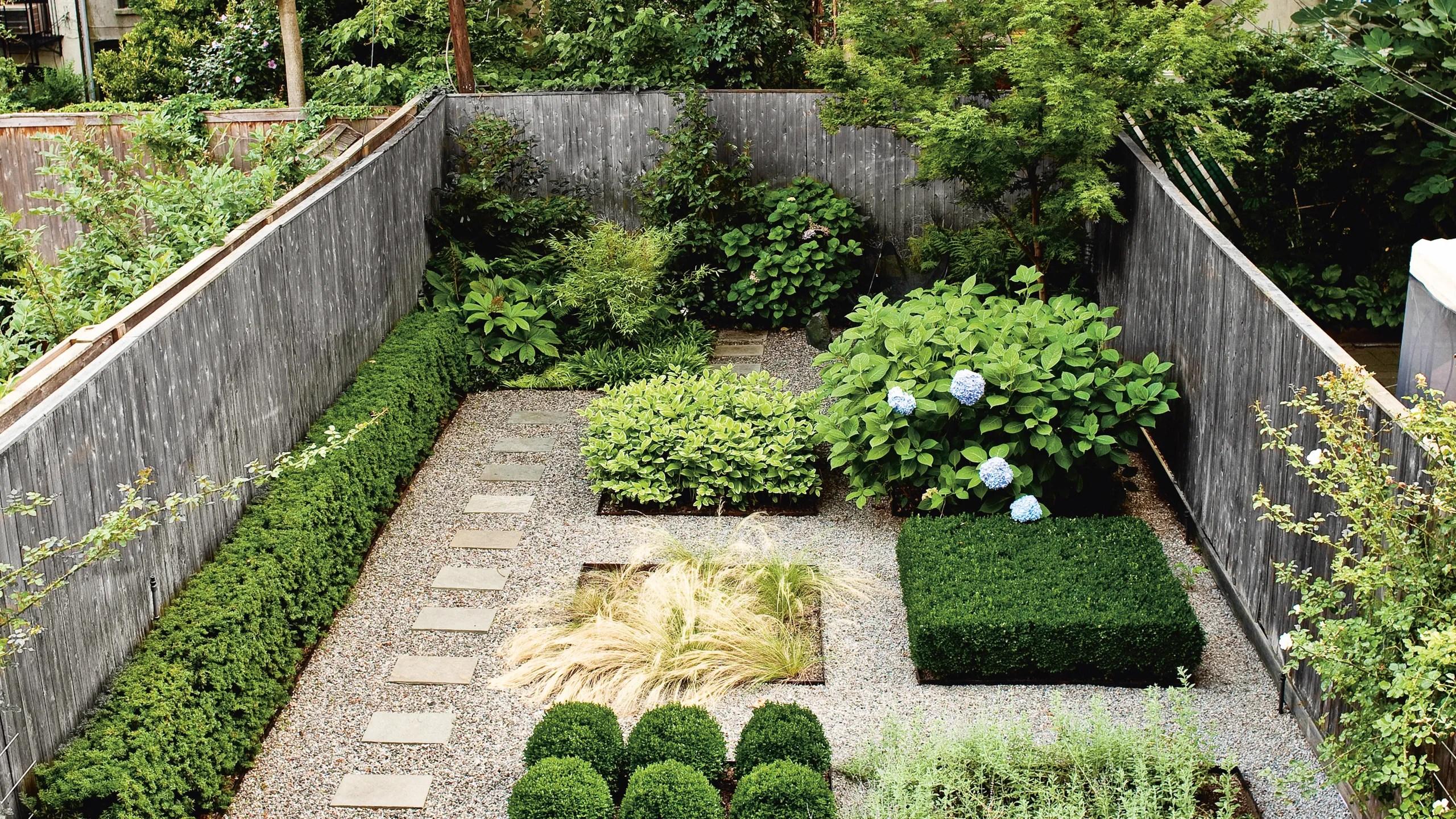 Garden Ideas Inspired By This Brooklyn Backyard ... on Backyard Retreat Ideas id=38358