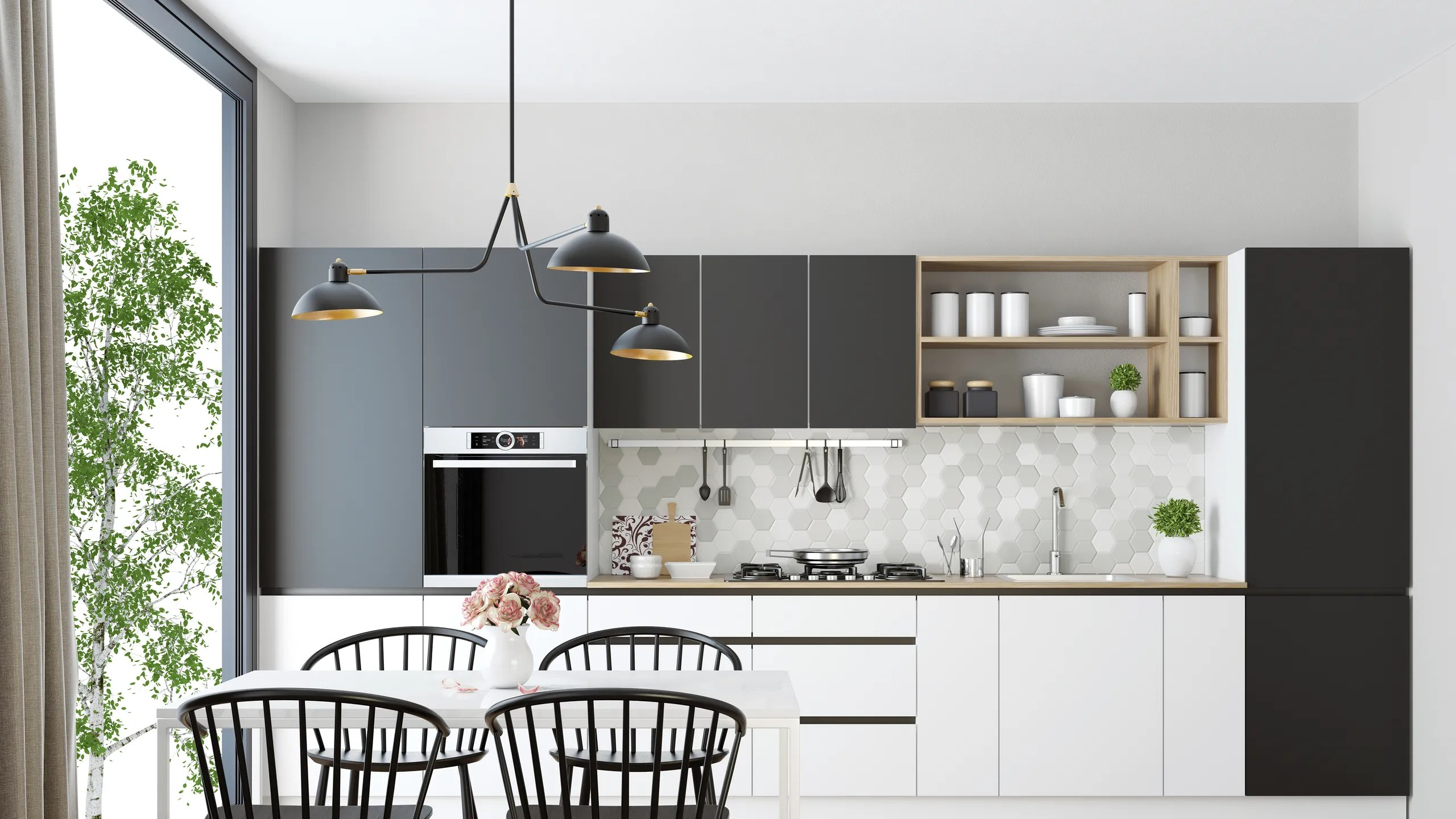 51 Small Kitchen Design Ideas That Make the Most of a Tiny ... on Farmhouse:4Leikoxevec= Rustic Kitchen Ideas  id=71569