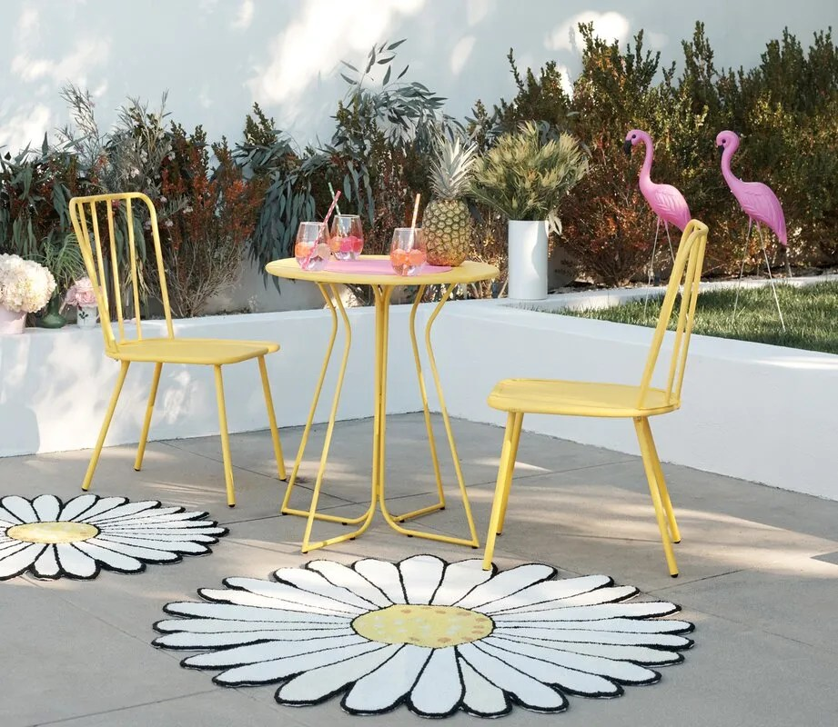 9 outdoor table and chairs sets for