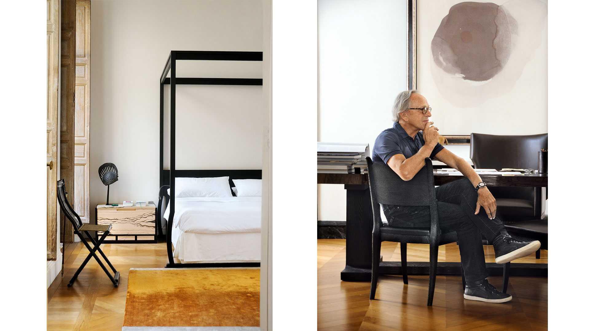 Interior Designer Christian Liaigres Parisian Apartment