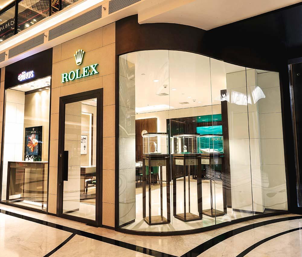 Tour The New Store Of Rolex In The Chanakya New Delhi