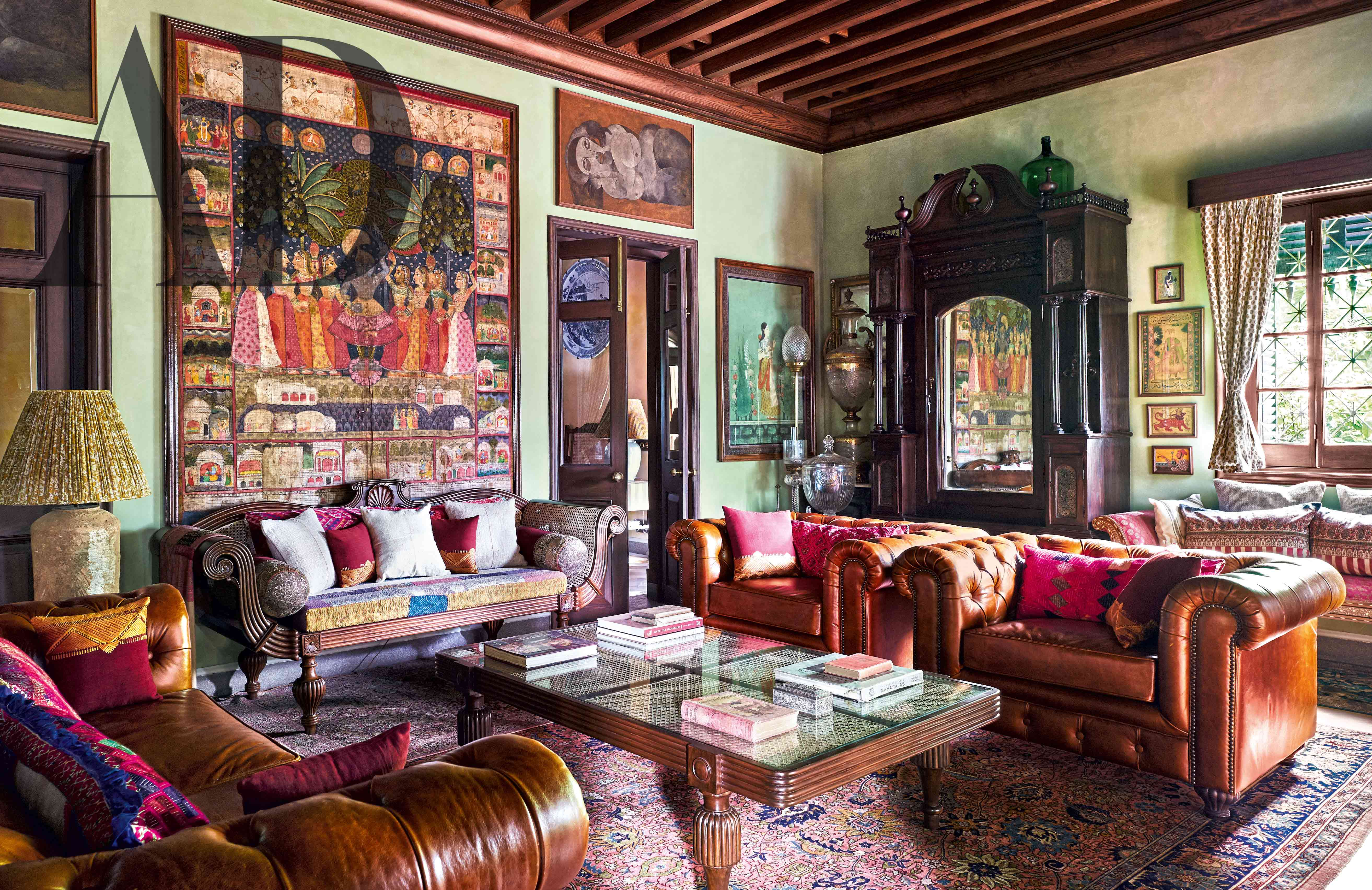 Sabyasachi Mukherjee Gives Us A Grand Tour Of His Calcutta Mansion