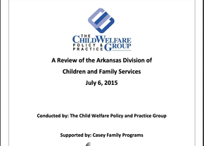 Review of the Arkansas Division of Children and Family Services