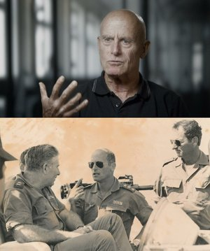 Former head of Israel's secret service Shin Bet, Ami Ayalon