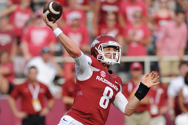 WholeHogSports - Allen named Hogs' starting QB