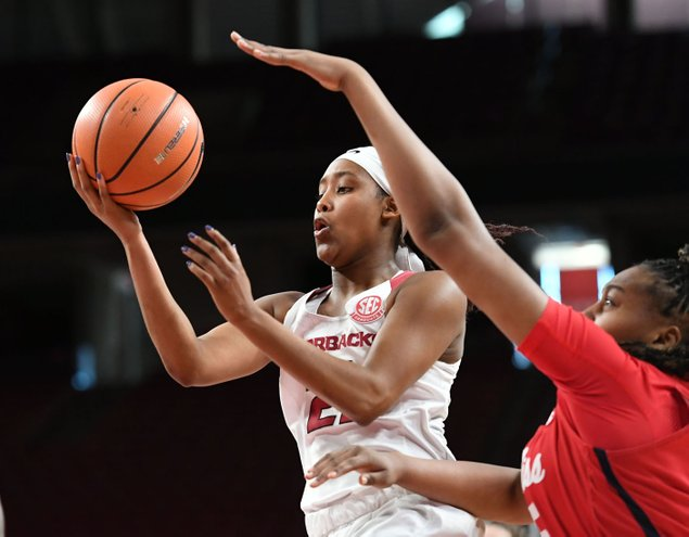 SEC Women Arkansas holds off late Ole Miss charge | NWADG