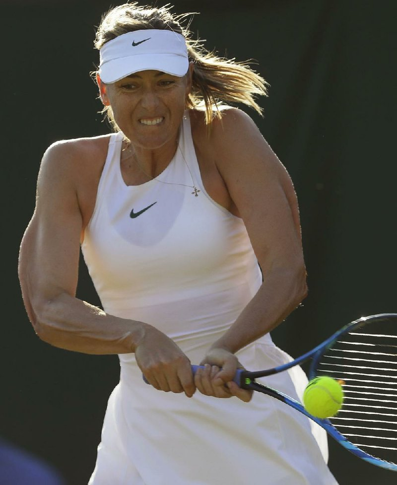 Sharapova latest high seed toppled