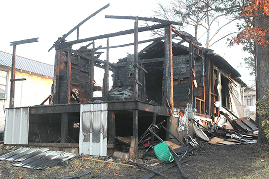 Hot Springs Sentinel Record - Home destroyed