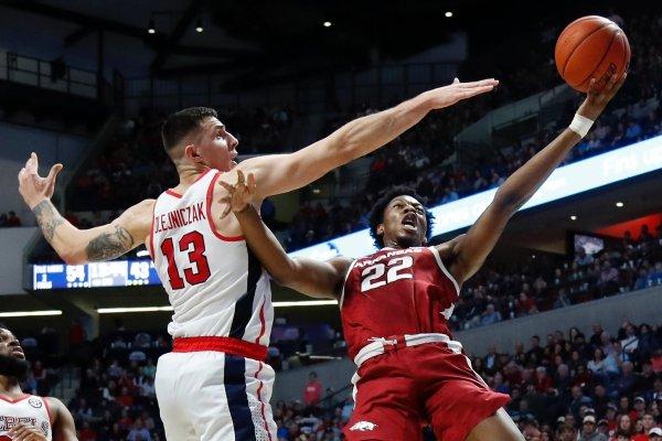 Ole Miss Rebels Vs Arkansas Razorbacks college basketball 2019 এর ছবির ফলাফল