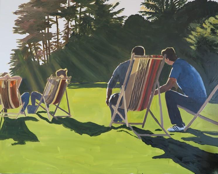 chaises longues bois de boulogne