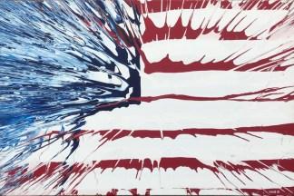 ▷ American Flag by Michael Grine, 2010 | Painting | Artsper (920619)