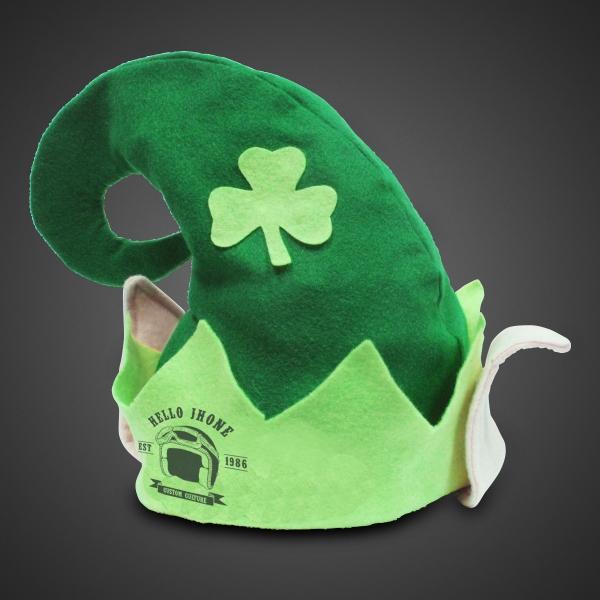 Custom Branded Shamrock Hat