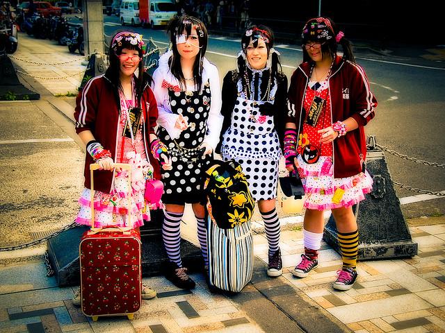Jeune adulte fashions japon