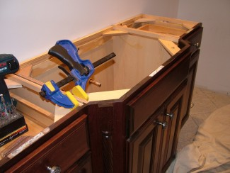 plans for vanity cabinet