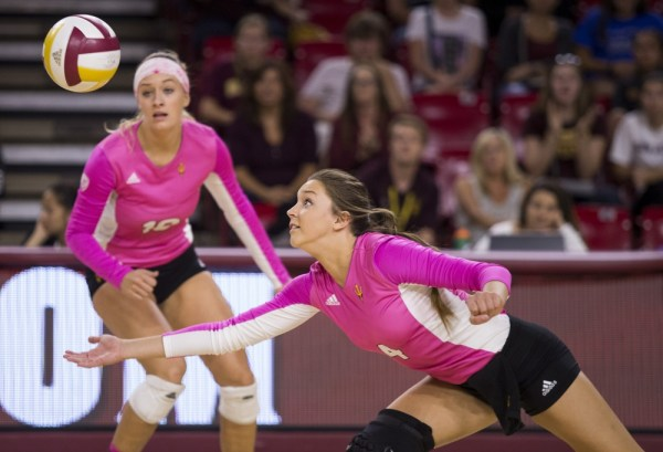 ASU women's volleyball defeats Stanford for the first time ...