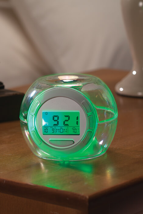 Alarm Clock With Soothing Sounds Unique Alarm Clock