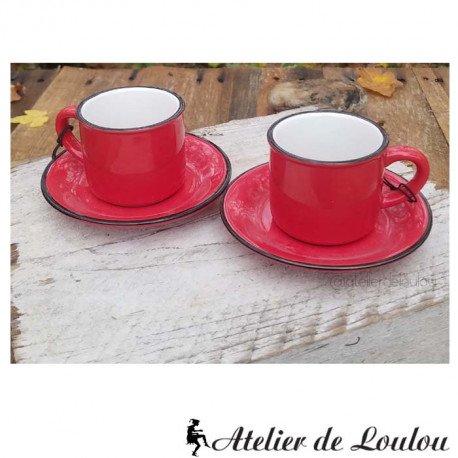 tasse bistrot rouge atelier de loulou
