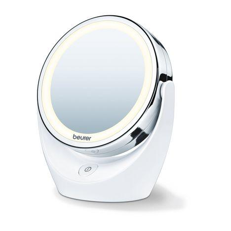 Miroir Lumineux Grossissant Bs 49 Blanc Beurer Pas Cher A Prix Auchan