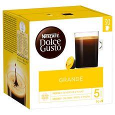 Dolce Gusto Nescafe Dolce Gusto Capsules De Cafe Espresso X30 180g 30 Capsules 180g Pas Cher A Prix Auchan