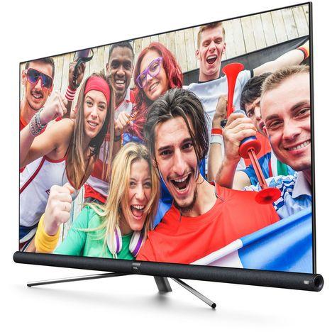 tv led 4k ultra hd 165 cm smart tv tcl