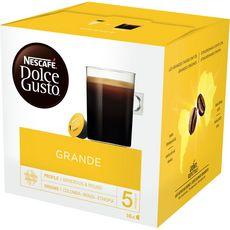 Auchan Auchan Cafe Espresso Compatible Dolce Gusto Capsule X10 70g Pas Cher A Prix Auchan