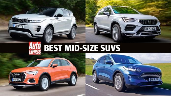 Best Mid Size Suvs On Sale 2021 Auto Express