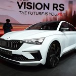 New Skoda Vision Rs Concept Previews Future Vrs Models Auto Express