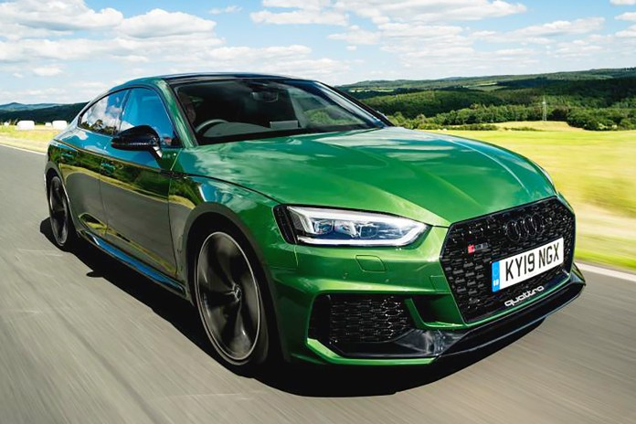 New Audi Rs 5 Sportback Review Auto Express