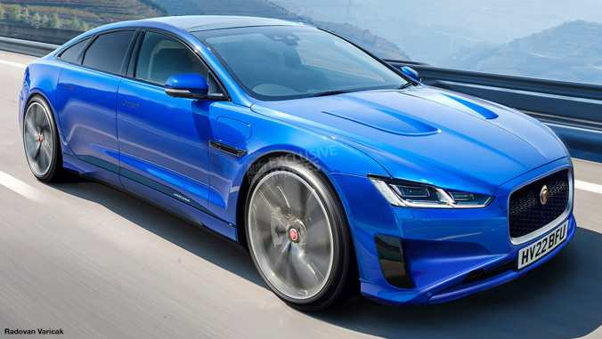 Image of the 2020 Jaguar XJ from Auto Express