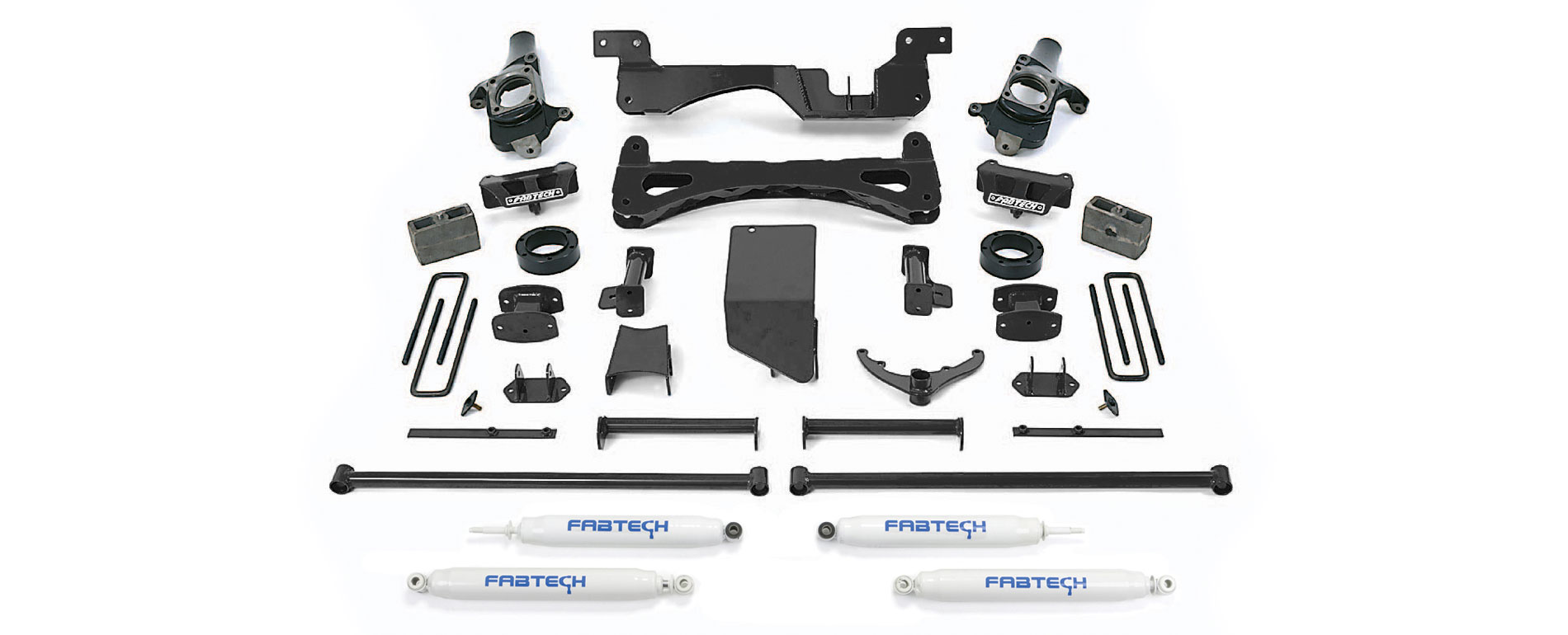 6 Inch Performance System Lift Kit With Performance Shocks