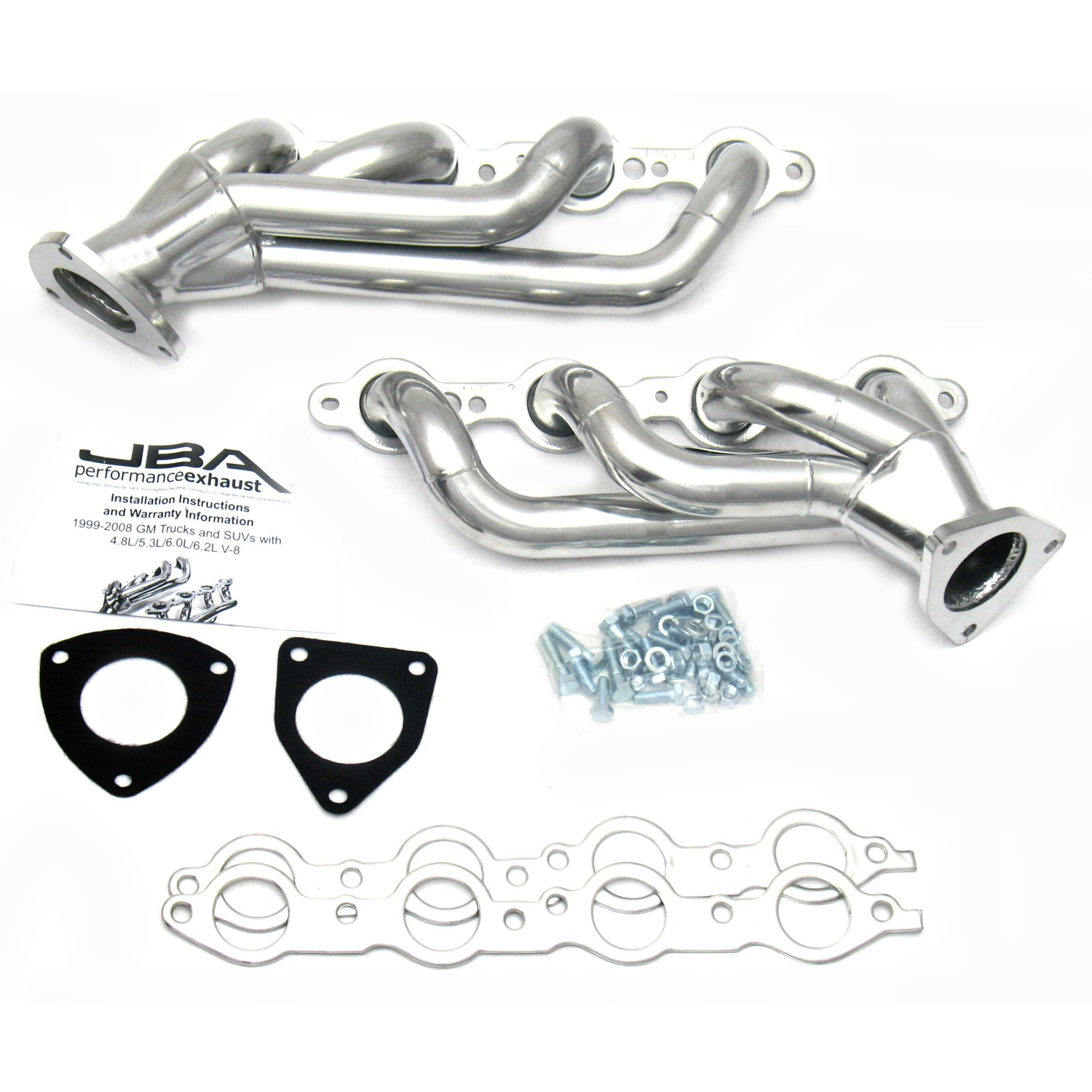 Jba S 3js 1 5 8 Shorty Stainless Steel Exhaust Header