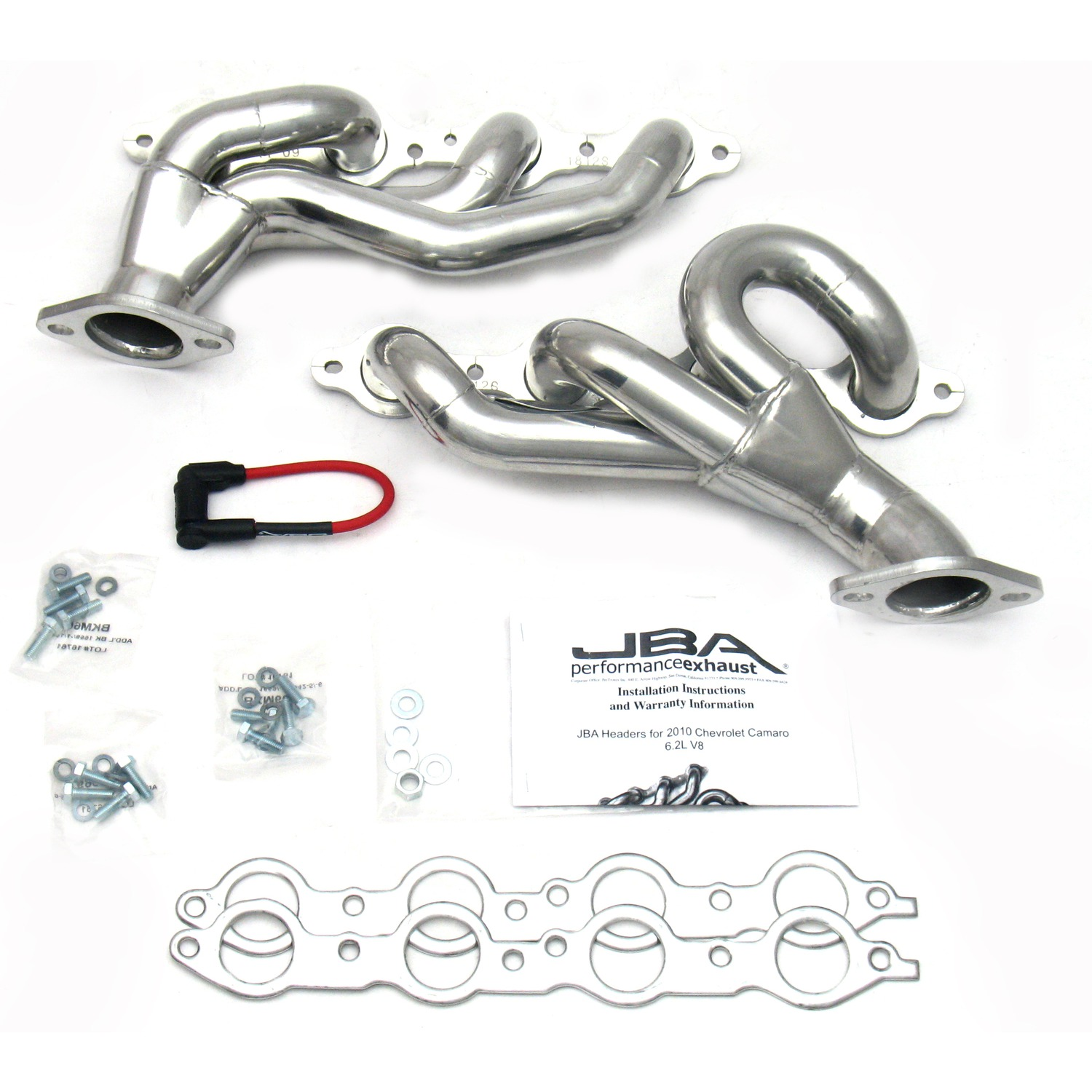 Jba Sjs Stainless Steel Silver Ceramic Shorty Exhaust