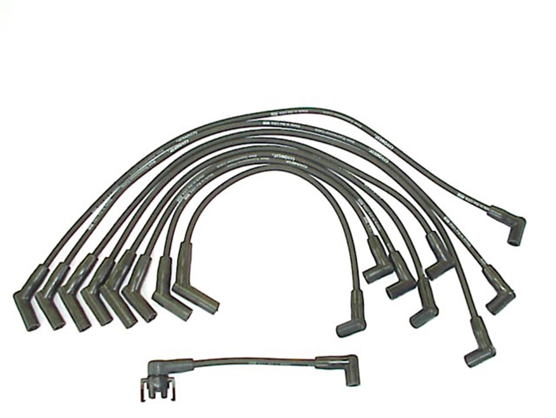 Corvette Spark Plug Wires Diagram