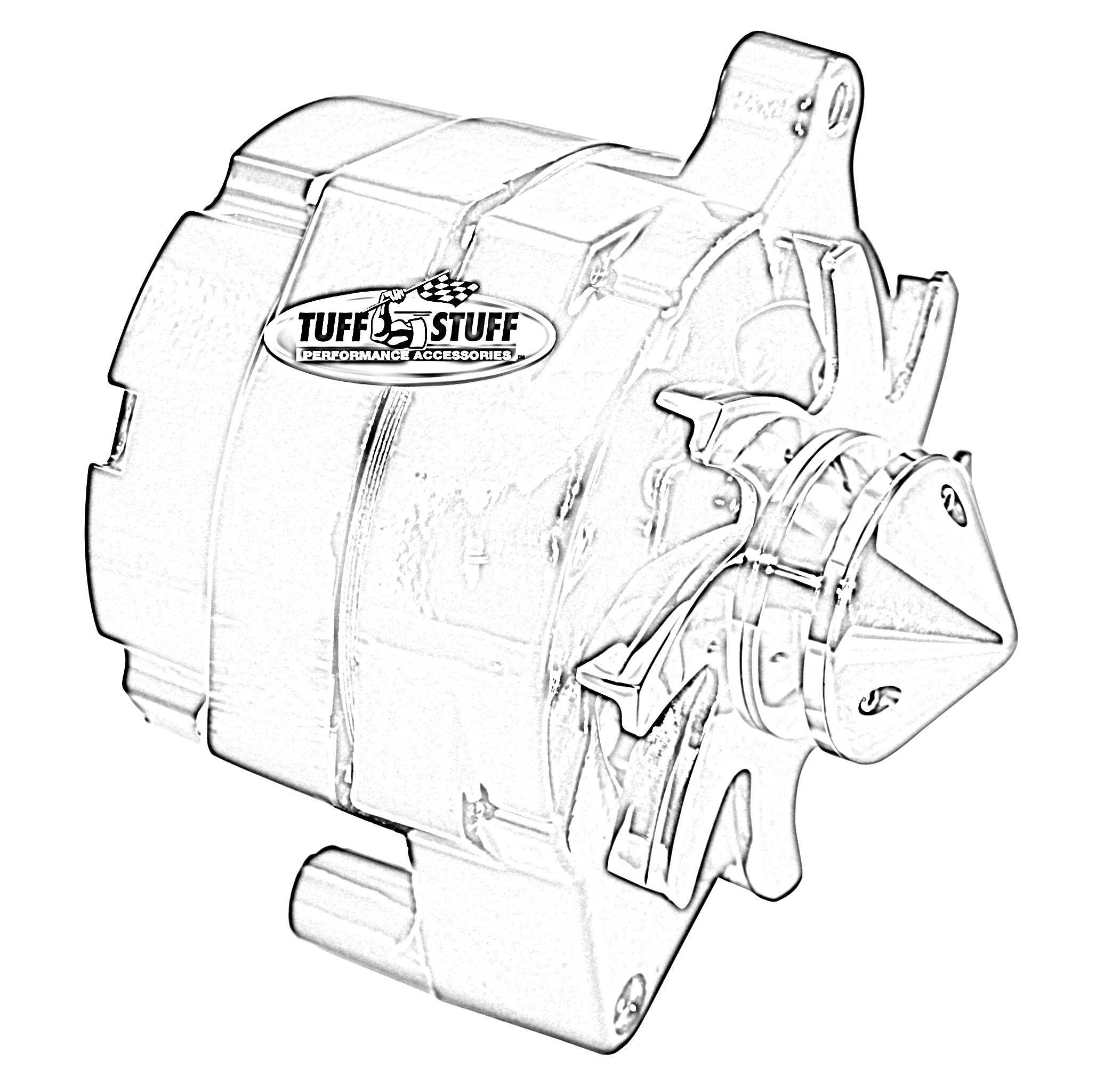 Tuff Stuff Performance Fbullblu Alternator