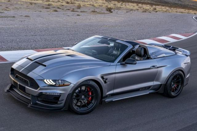 Shelby Super Snake Speedster is heftig én gelimiteerd