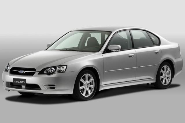 Subaru Legacy (2006)- Facelift Friday