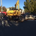 grävskopa fordonsjakt förskola yngre barn