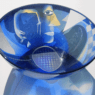 Ann Wolff BOWL 1985 diam. 37 cm, etchd and sandblasted glass