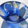 Ann Wolff BOWL 1985 diam. 37 cm, etchd and sandblasted glass