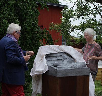 Inauguration in Ödins garden