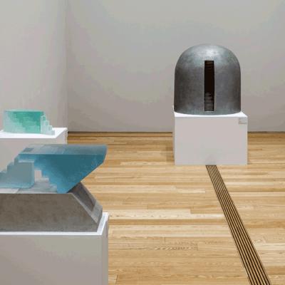 Toyama Art Museum, Japan – exhibition Ann Wolff Andante
