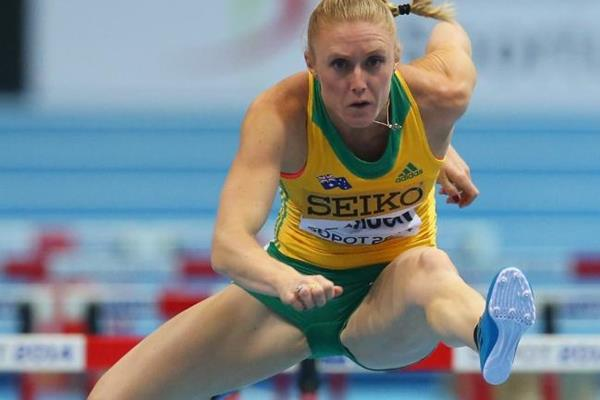 Sally Pearson In The M Hurdles Heats At The Iaaf World Indoor Championships In Sopot