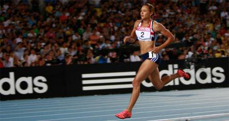 Jessica Ennis image used in IAAF Partners section for Adidas 880x466 (Getty Images)