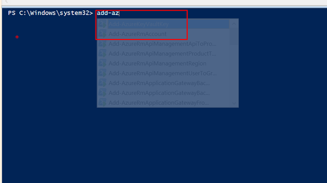 Getting Started With Azure PowerShell 1 0 Preview #ARM